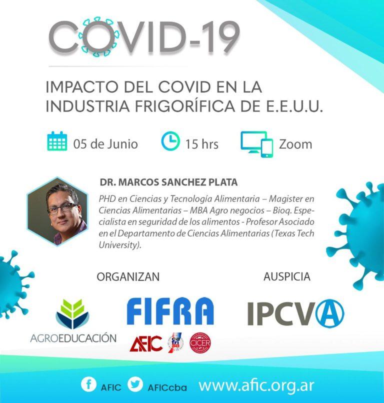Impacto Covid-19 en Ind. Frigorificas de EE.UU